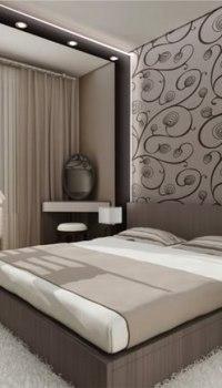 Спальня для пожилых людей в успокаивающих тонах