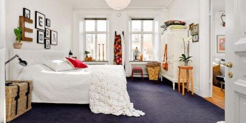 Белая штукатурка впишется в интерьер любого помещения