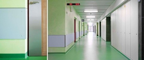 Больницы.