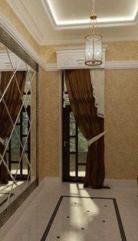 Декорирование зеркалами прихожей