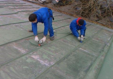 Делаем зачистку поверхности