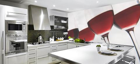 Фотообои для кухни и дизайн