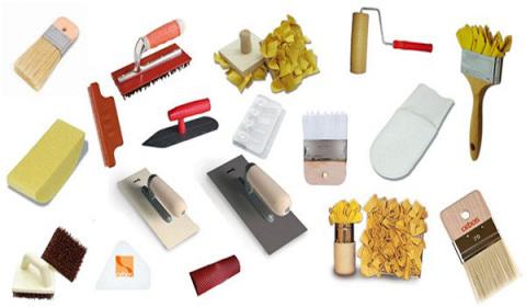Инструменты для оштукатуривания газобетона