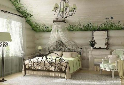 Использование различных материалов для декора белых стен