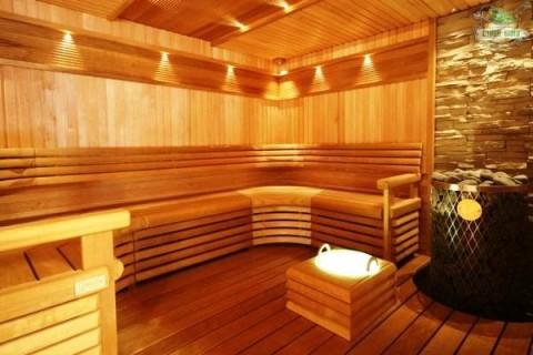 Качественная отделка в бане
