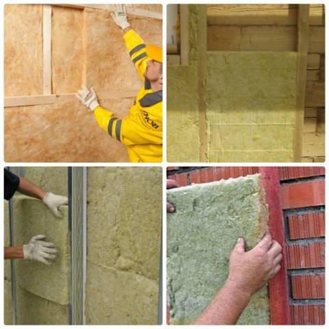 Минеральная вата для утепления стен, считается самым дешёвым вариантом.