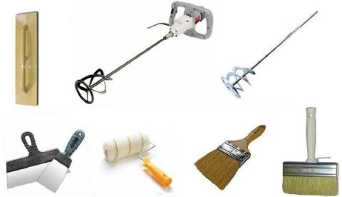 Набор инструментов для шпаклевания