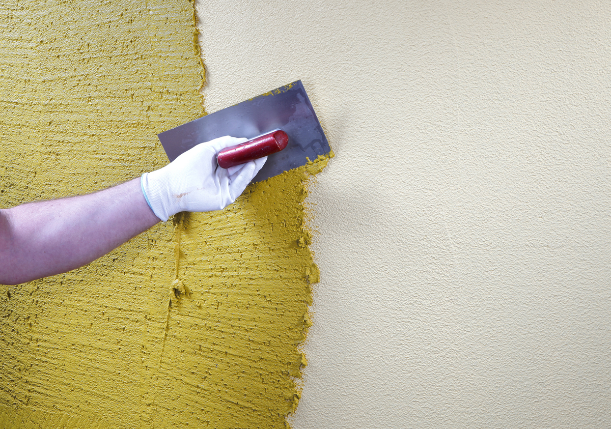 Декоративная штукатурка своими руками подготовка стен 59