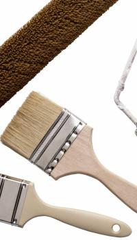 Необходимые инструменты для наклейки обоев