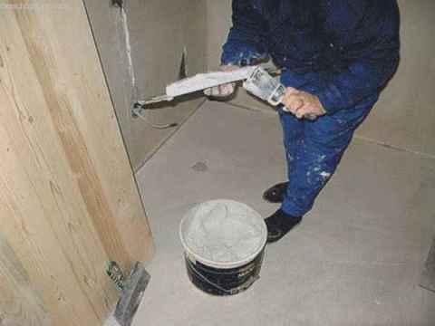 Подготовка к нанесению покрытия