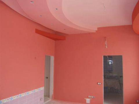 Покраска стен матовой масляной краской