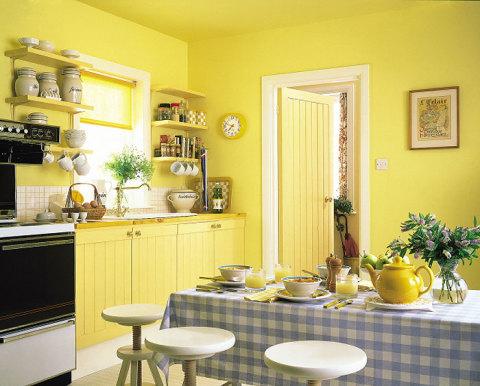 Покраска стен в кухне