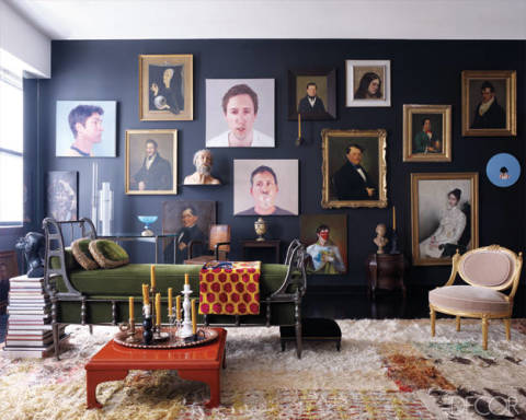 Постеры в виде портретов