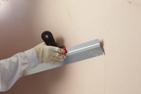 Распределение материала на стене