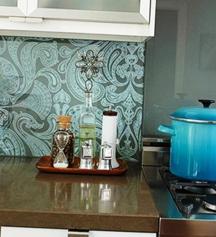 Стекловолоконные обои для кухни