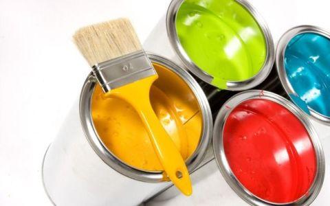 Цвет краски для обоев