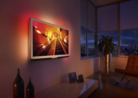 Устройство телевизора на стене