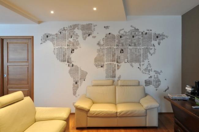 Декор стен своими руками фото и идеи
