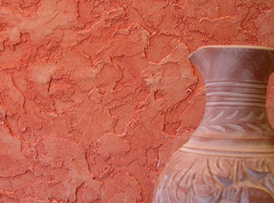 Венецианская штукатурка на стене
