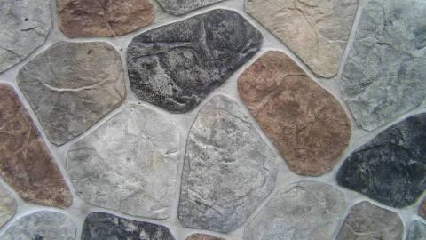 Венецианская штукатурка в виде камня