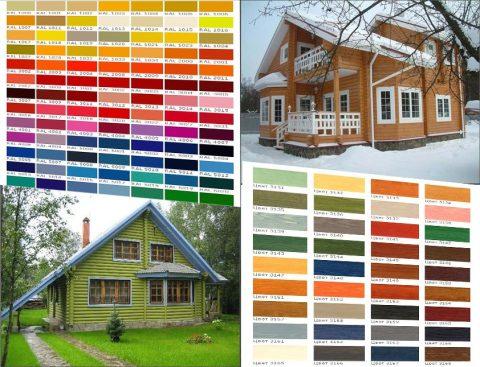 Выбираем цвет фасада дома