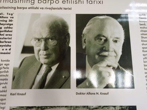 Братья Альфонс и Карл Кнауф