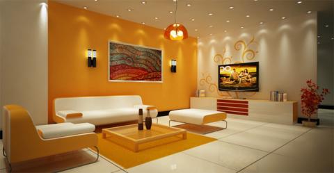 Декоративная покраска поможет сделать интерьер неповторимым
