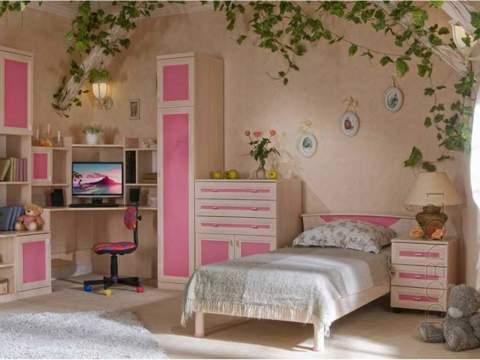 Детская спальня в спокойных тонах