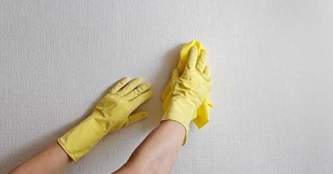 Флизелиновые обои устойчивы к ежедневной влажной уборке.