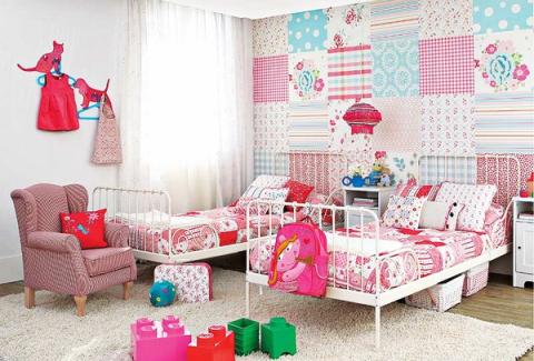 Идеальное оформление детской комнаты.