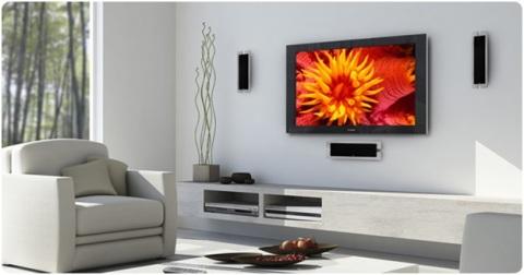 Как на стену подвесить телевизор