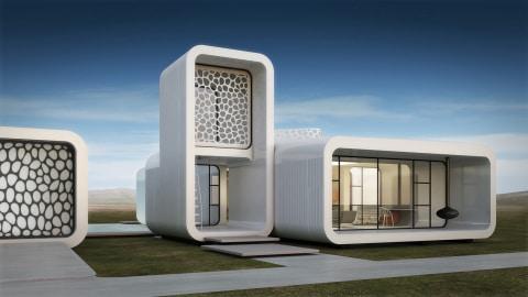 Необычный офис в Дубае, напечатанный на принтере
