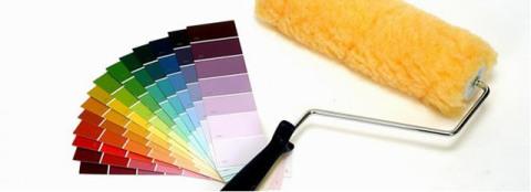 Палитра водоэмульсионных красок.