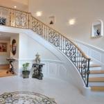 Панели в виде плит для лестницы