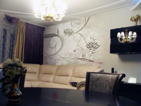Покраска стен колером дизайн для гостиной