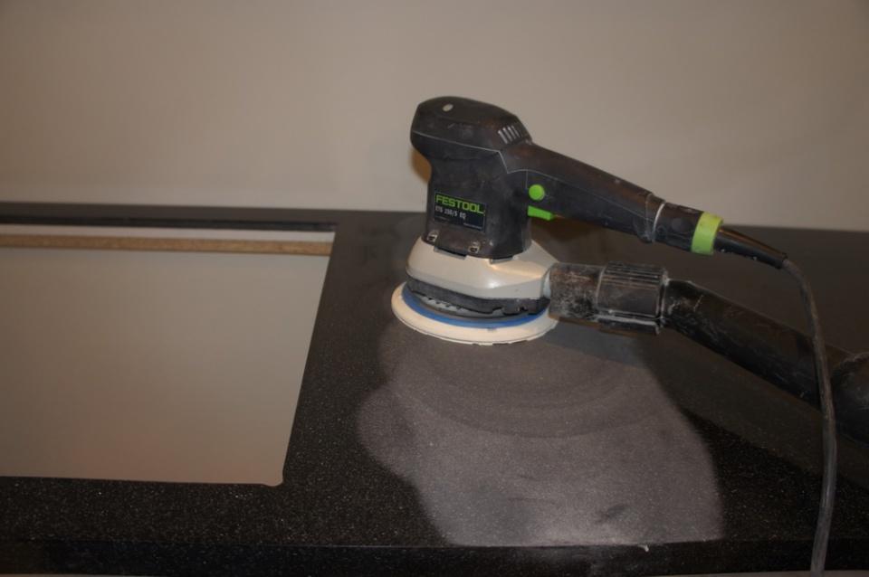 Инструмент для столешницы из искусственного камня