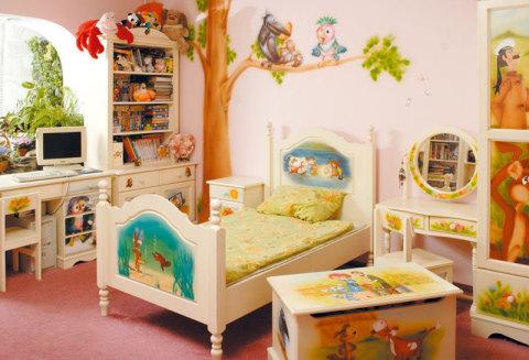 Сказочная покраска детской комнаты