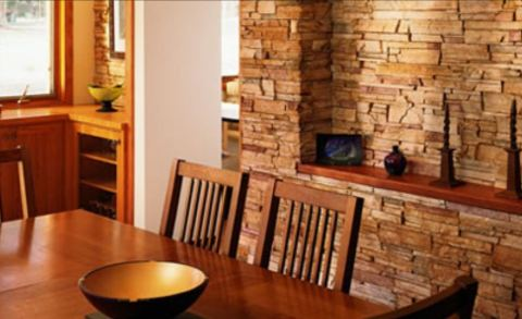 Сочетаем с деревянной мебелью