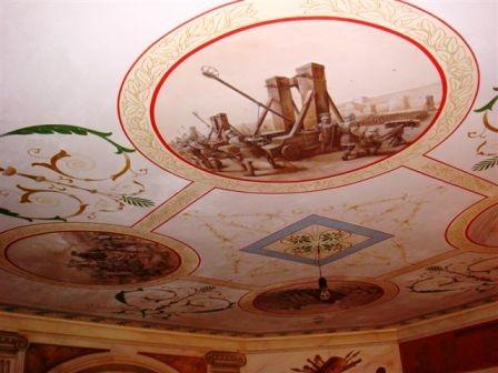 Вариант росписи потолка