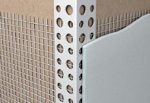 Уголки пластиковые для защиты углов стен
