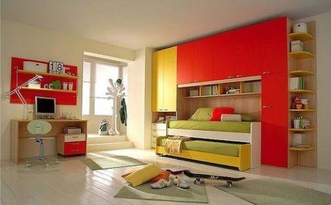 Яркий интерьер помещения для любителей острых ощущений