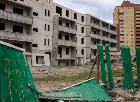 Заброшенная стройка – крушение чьих-то надежд