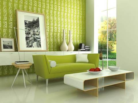 Зеленый цвет для рабочей зоны