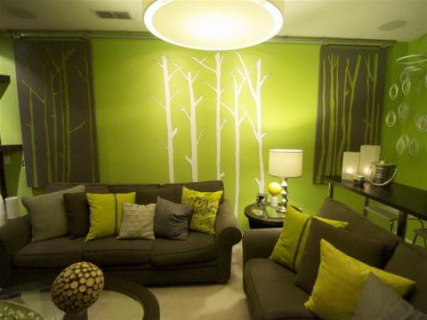Зеленый цвет так же прекрасно выполняет роль мотиватора.