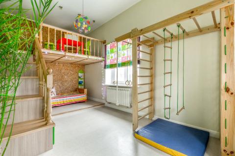 Зонируем комнату ребенка