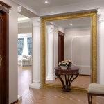 Большое зеркало – это изюминка любого интерьера