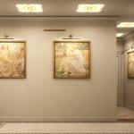 Дополняем дизайн стен в прихожей картинами