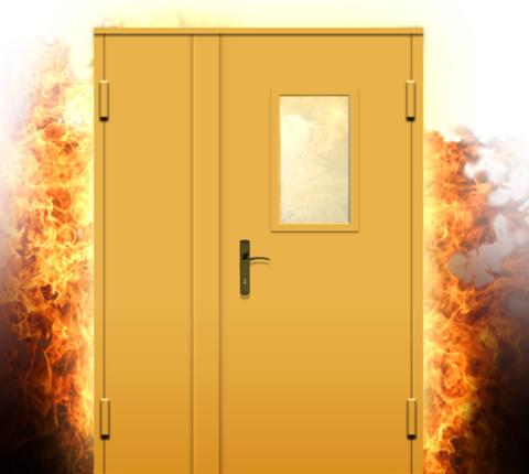 Двери из несгораемого материала