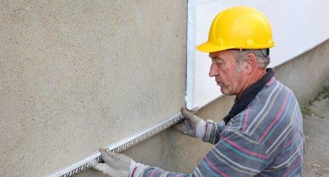 Как утеплять стены с пенопластом поэтапно