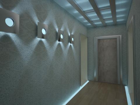 Композиция «аквариум»: весь эффект создаётся благодаря подсветке